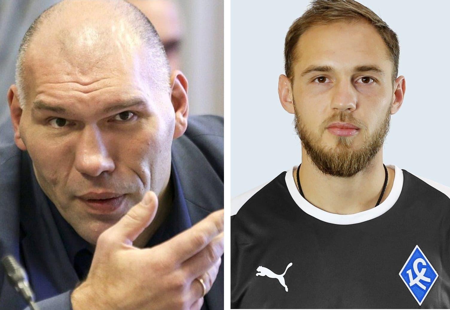 Николай Валуев и Евгений Фролов