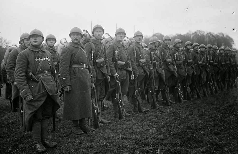 Русские солдаты во Франции