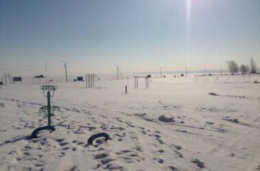 Волга. Зима