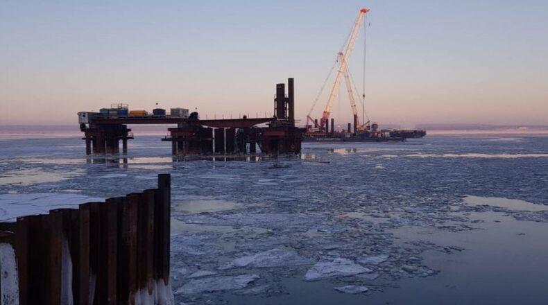 мост у климовки