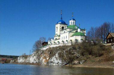 церковь на скале